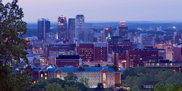 Birmingham en Alabama