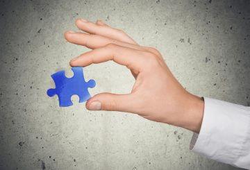 Puzzle, business, concept.