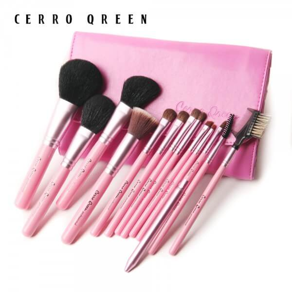 13 pinceaux maquillage Cerro Qreen- So easy