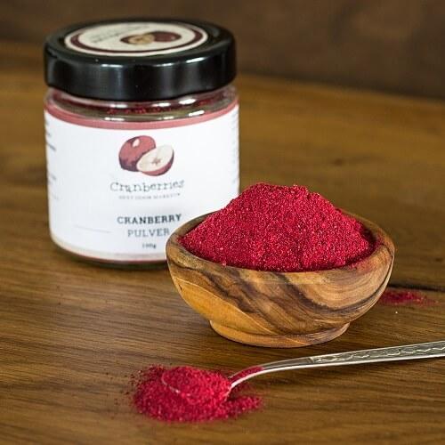 cranberry en poudre