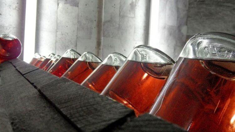 rangement des bouteilles