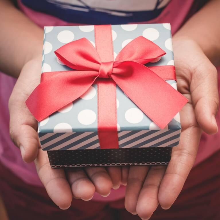 Les cadeaux pour une femme