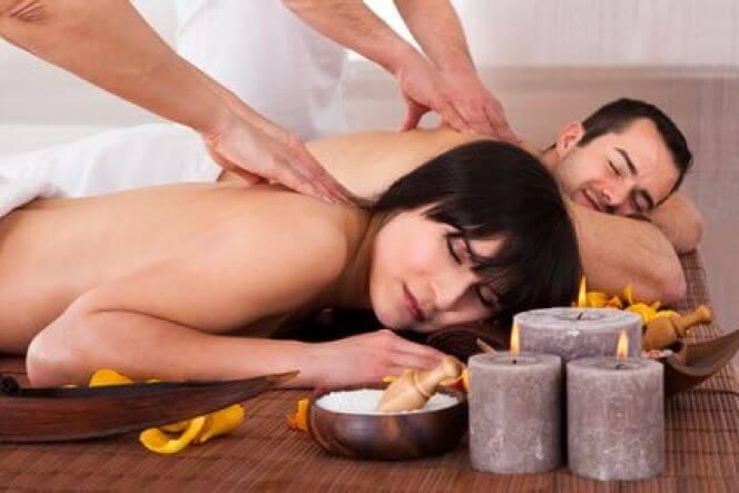 séance de massage pour deux